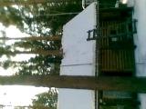 Спуск с крыши бани